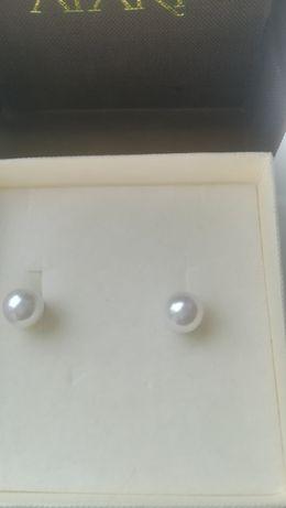 perły kolczyki apart