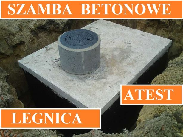 Szamba betonowe na ścieki 12m3 szambo zbiornik zbiorniki od 4 - 12