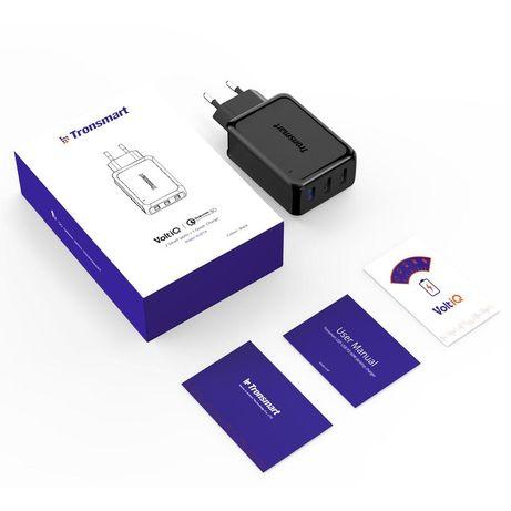 Зарядка на 3 USB 42W Tronsmart Qwick Charge 3.0