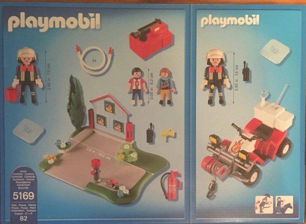 Nowy Playmobil Akcja Straż Pożarna Quad Zestaw