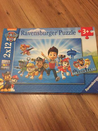 Puzzle Psi Patrol Ravensburger 2x12