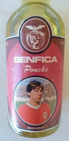 Garrafa rara do jogador Carlos Manuel do Benfica