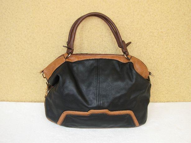 Женская сумка черно-коричневого j&d