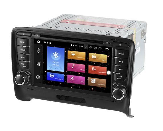 Radio AUDI TT 8J ANDROID 10 / 4GB DVD RNS-E Nawigacja PX5 2DIN PL 24H
