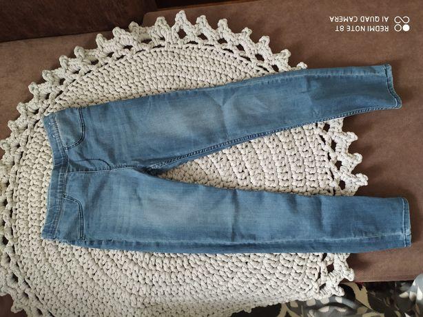 Spodnie h&m dla dziewczynki 140