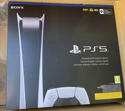 Sony Playstation 5 PS5 Digital selada com factura e garantia