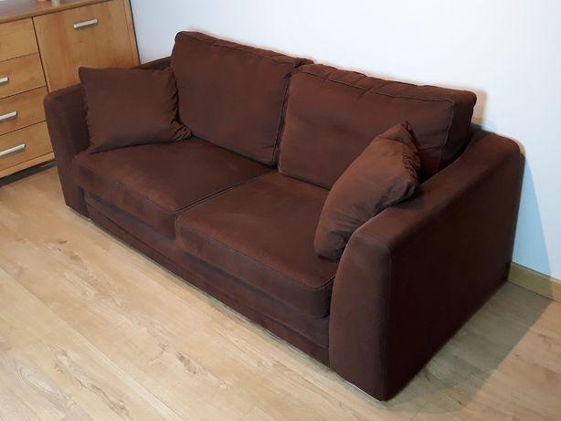 Sofa z funkcją spania okazjonalnego