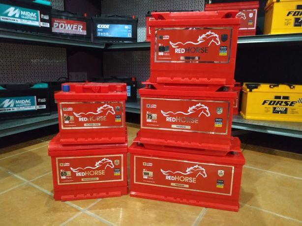 Акумулятор RED HORSE (WESTA) 50/60/65/74/75/100Ah 2 роки гарантія!