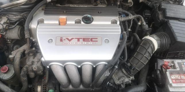 Silnik honda accord vii 2.4 benzyna 180 tys km przebiegu. Ze skrzynia