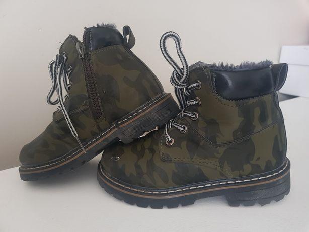 Kozaki buty trapery chłopięce rozm 26 27