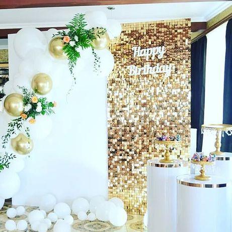 Ścianka weselna, Ścianka za Parą Młodą