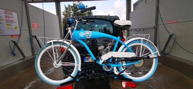 Rower z silnikiem spalinowym TransVWestiT motorower skuter