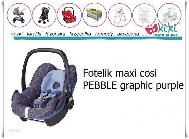 fotelik maxi-cosi pebble graphic purple