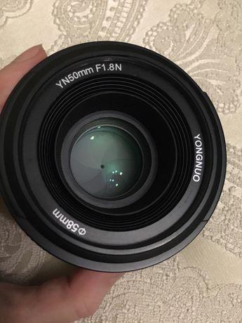 Обєктив 50mm 1.8