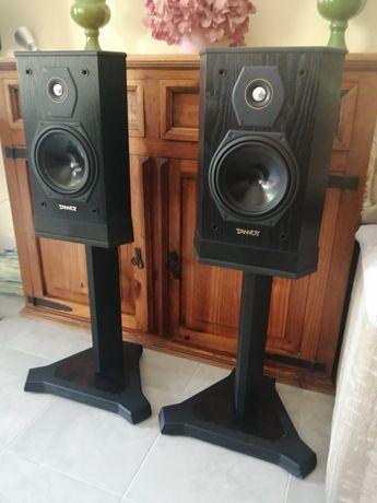 Tannoy Sixes 605 + Suportes Colunas Monitoras Hi-Fi Impecáveis!