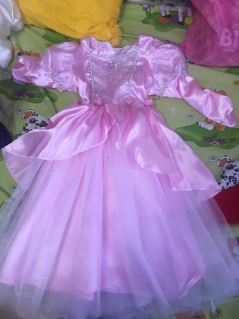 Платье Золушка , платье для утренника , платье барби , карнавал