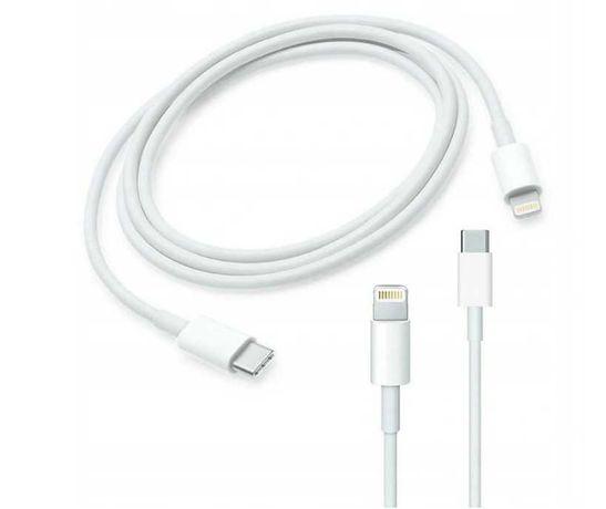 Oryginalny kabel przewód USB typ C APPLE LIGHTNING iPhone iPad