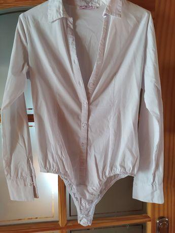 Koszula biała body