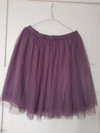 Spódnica tiulowa reserved liliowa