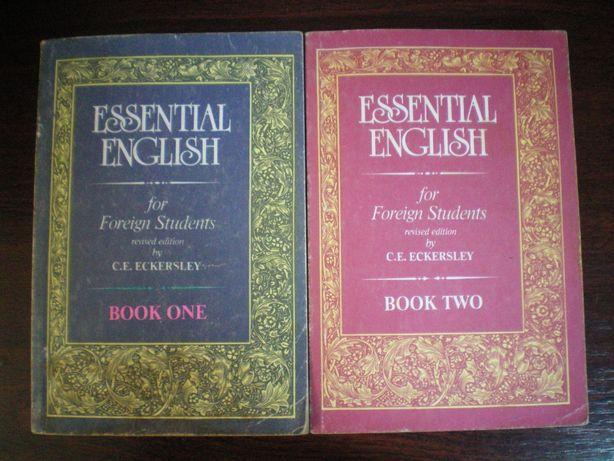 ESSENTIAL ENGLISH Эккерсли К.Е. учебник английского языка 1,2том книга