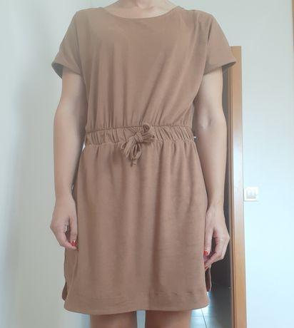 Vestido rulys tipo camurça