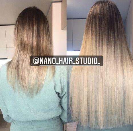 Наращивание волос! Nano и micro капсулы