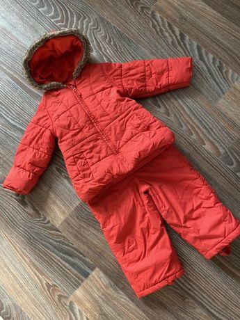 Комбинезон зимний ,костюм  mothercare