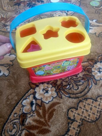 Ведерко сортер fisher price, фишер прайс