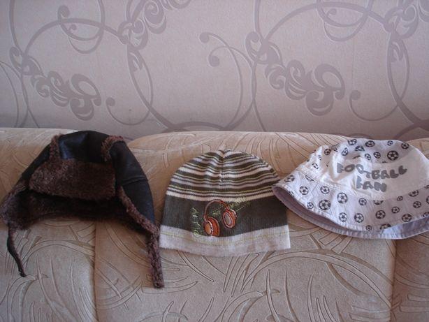 Шапка(европ.зима) панама(лето) вяз.шапка (НОВАЯ), р.50-52, 3-5 лет