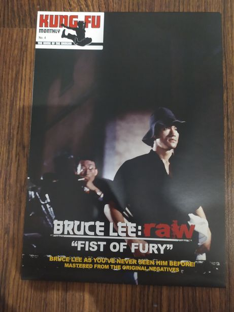 Kung Fu Monthly Bruce Lee plakat postermagazyn