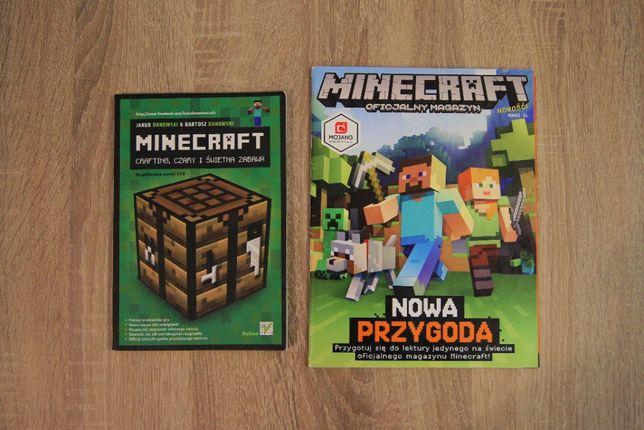 Książka Minecraft crafting czary i świetna zabawa + magazyn