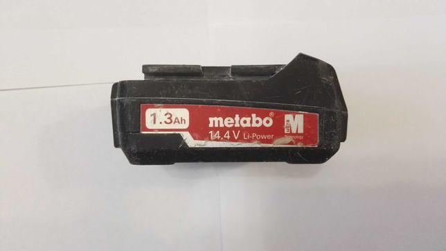Акумулятор Metabo 14,4 вольт 1,3 а/ч.