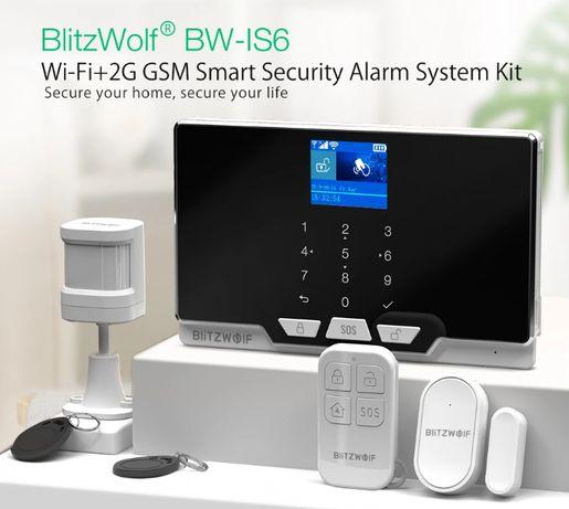 Sistema de Alarme sem fios WIFI GSM 2G c/app Android IOS TUYA