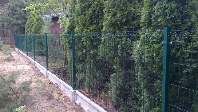 Montaż ogrodzeń : Panel Siatka Bramy Furtki Palisadowe