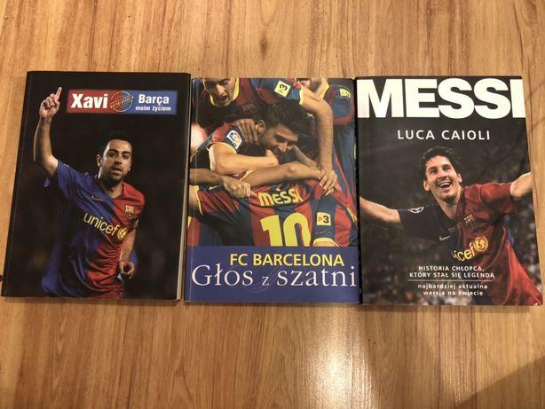 Książki FC Barcelona: Messi, Xavi, Głos z szatni