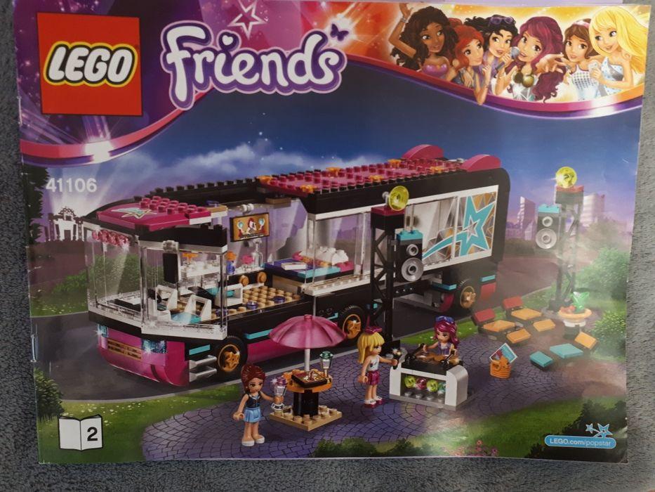 Lego Friends 41106 Wóz Koncertowy Gwiazd Pop Warszawa - image 1