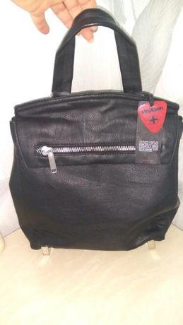 Молодежный стильный рюкзак для города/школы invito италия кож-зам