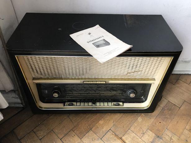 Radio antyk Stradivari 2