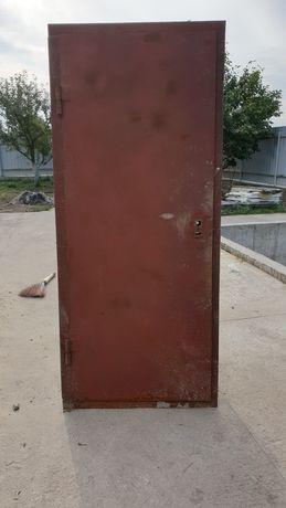 Двері металеві утепленні