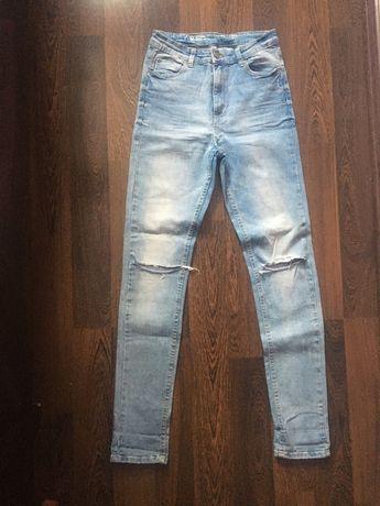 Spodnie z Dziurami Wysoki Stan __rozm.S/ 27