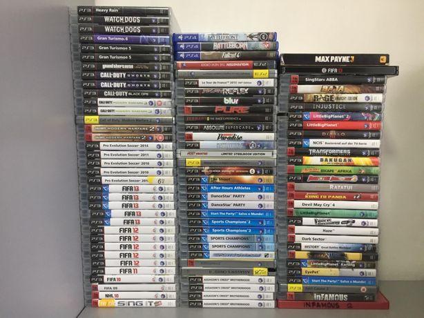 Vendo 58 jogos para a Sony PlayStation 3 | PS3 | Também vendo separado
