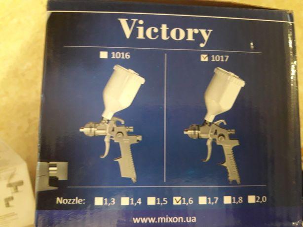 Краскопульт покрасочний пистолет фарбувальний  Victory 1017+перехідник
