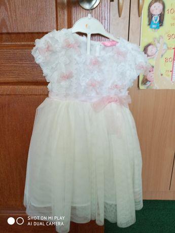 Нарядное платье для девочки 18-24 месяца