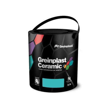Farba ceramiczna do wnętrz Greinplast Ceramic 2.5l 60 kolorów