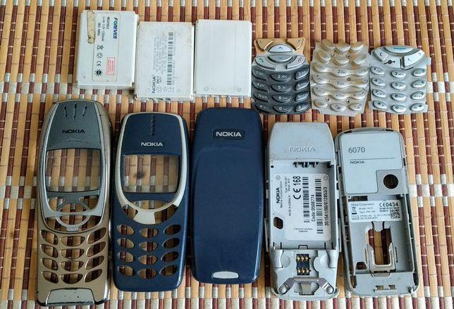 Resztki telefonów komórkowych NOKIA