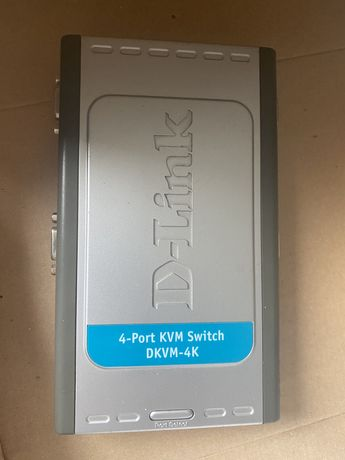 Switch 4 port KVM D-Link