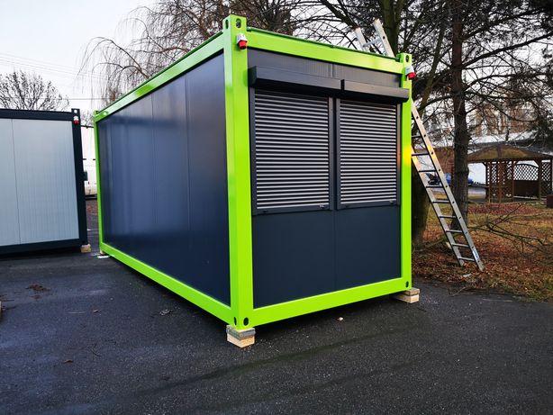 Pawilon PRODUCENT kontener mieszkalny stróżówka
