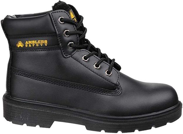 AMBLERS SAFETY lekkie, skórzane buty robocze - rozmiar 46