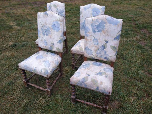 Stare krzesła tapicerowane