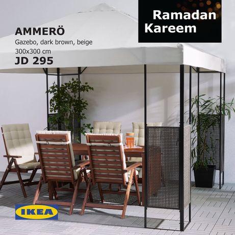 Pérgula Ikea 3x3
